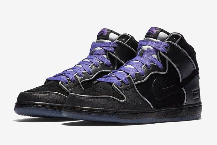 Nike Sb Dunk High Purple Box 1