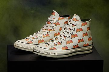 Batman Converse White