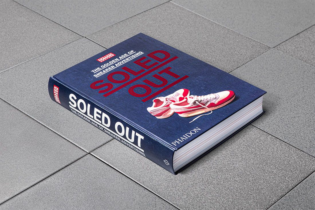 Sneaker Freaker Soled Out Book Limited Edition Front Cover Angle