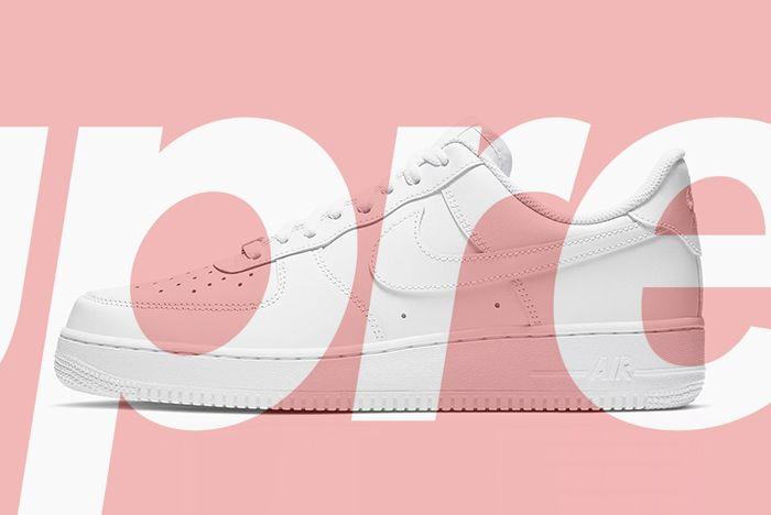 Supreme X Nike Air Force 1 Release Info