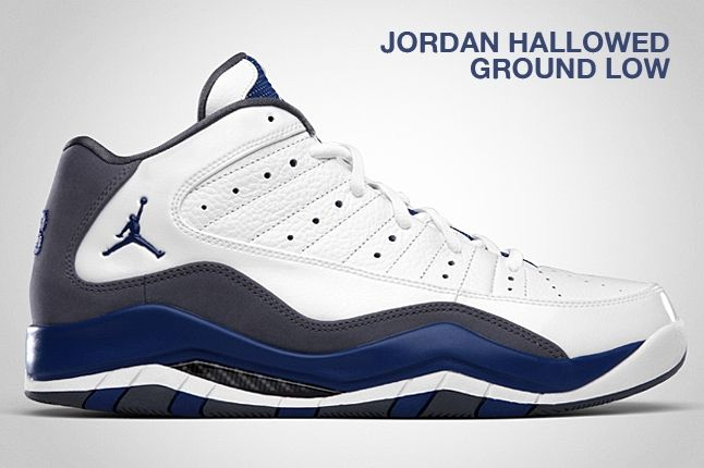 Jordan Hallowed Ground Low Blue Flint 1