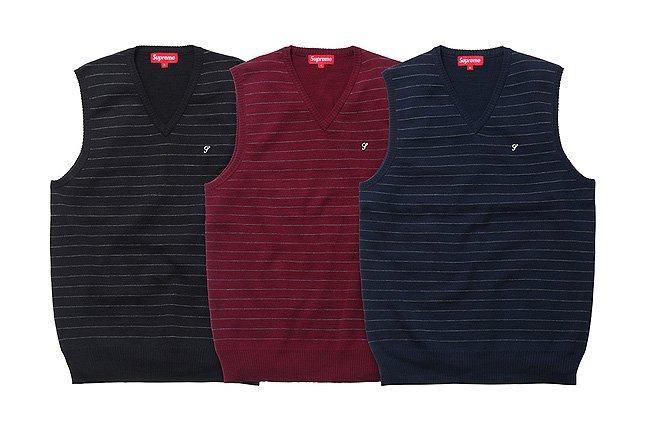 Supreme Three Sweater Vests 1