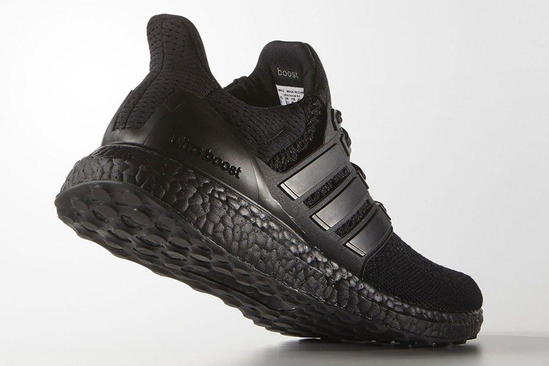 Adidas Ultra Boost Triple Black 3