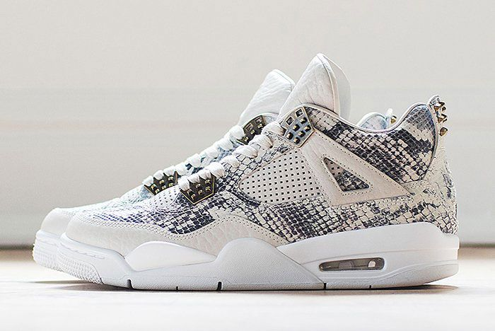 Air Jordan 4 Pinnacle Snakeskin
