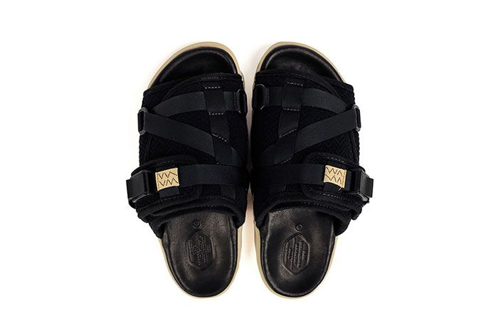 Visvim Christo Sandal Black Top