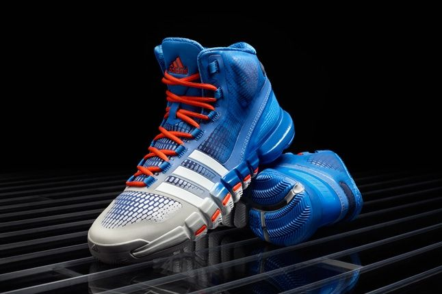 Adidas Crazyquick Blue Silver Orange Hero 1