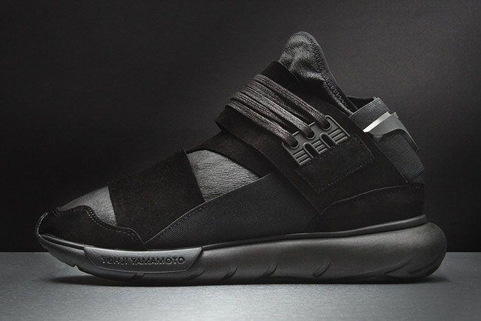 Adidas Y 3 Qasa High Triple Black 1