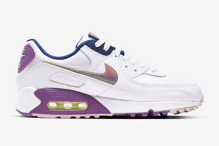 Nike Air Max 90 Easter Cj0623 100 Medial