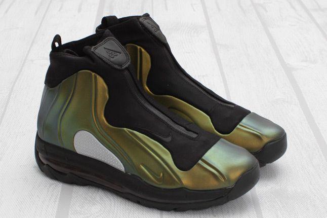 Nike I95 Positemax Metallic Gold Quater Pair 1