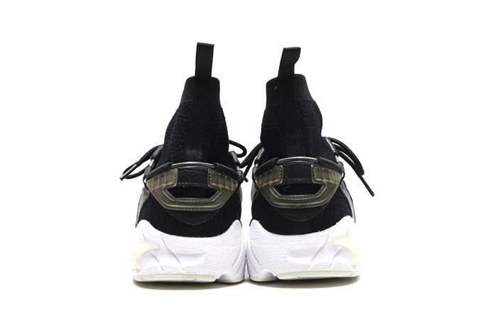 Asics Gel Mai Knit Mt Sock Black White 3