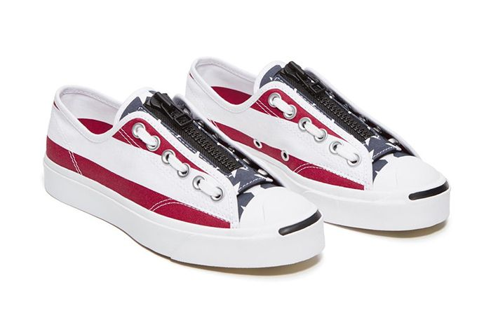 Takahiro Miyashita The Soloist Converse Jack Purcell Red White Blue Release Date Pair