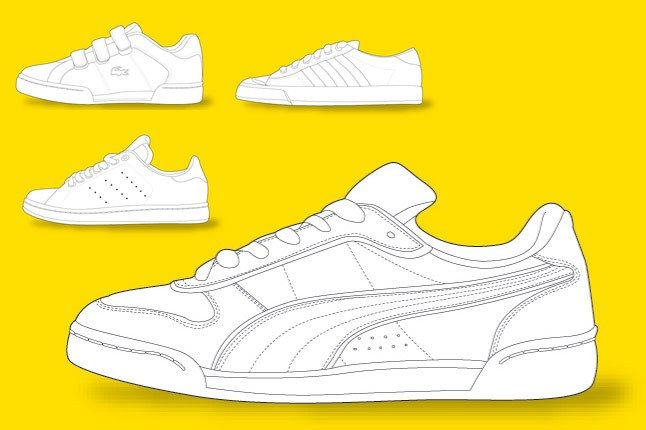 Sneaker Colouring Book 8 1