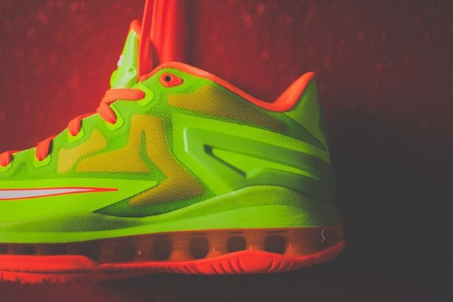 Nike Lebron 11 Low Gs Electric Green 2