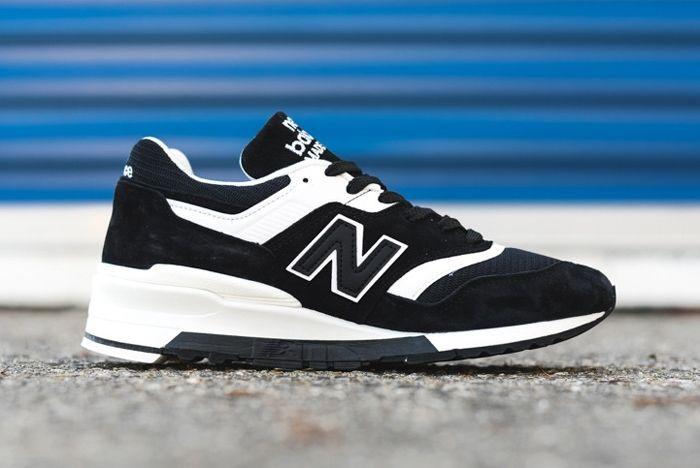 New Balance 997 Black White 1