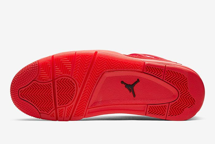 Air Jordan 4 Flyknit Red Aq3559 600 Sole Shot