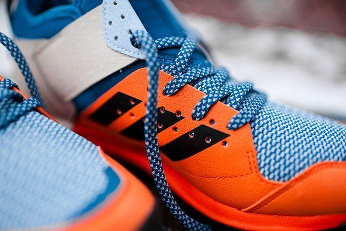 Adidas Response Trail Boost Core Blue Energy Orange 4