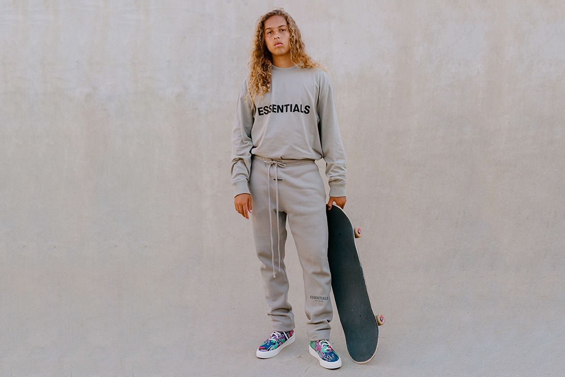 Converse fear of god essentials skidgrip