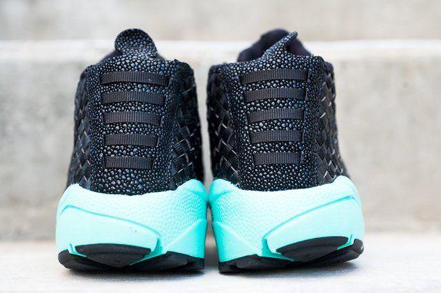 Nike Air Footscape Desert Chukka Black Turquoise 1