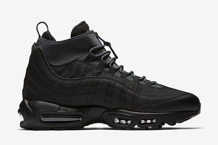 Nike Air Max 95 Sneaker Boot Triple Black 6