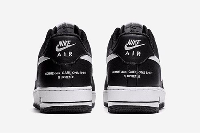 Cdg X Supreme X Nike Air Force 1 4