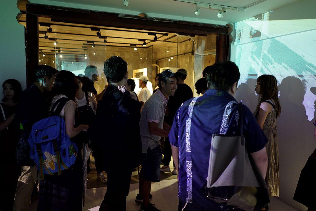 Tokyo Pop Up Launch Sacai X Nike Party14
