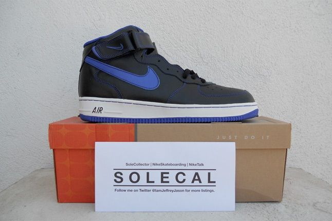 Nike Air Force One Navy Blue 1
