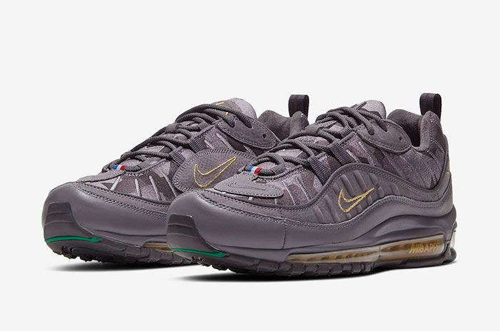 Kylian Mbappe Nike Air Max 98 Ct1531 001 Release Date 4Official