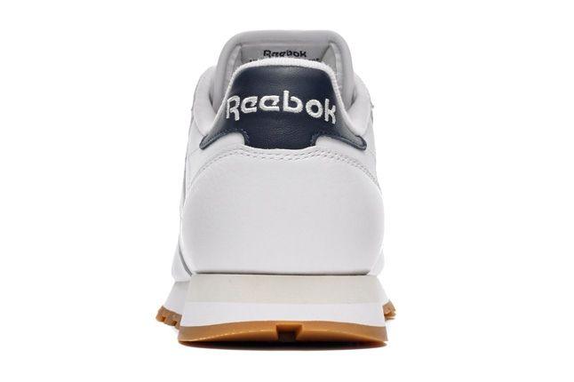 Reebok Classicleather Wht Gum Heel Profile 1