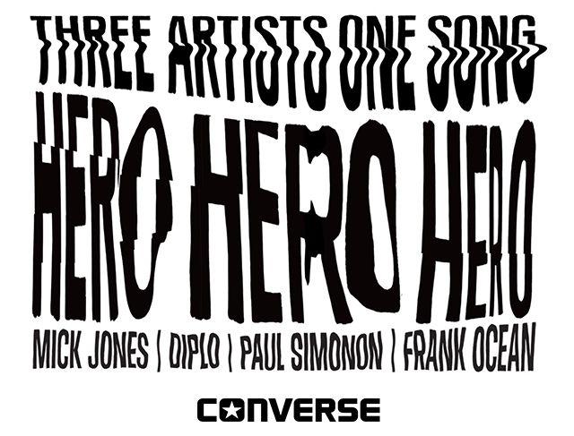 Converse Diplo Frank Ocean The Clash