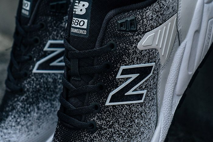 New Balance Mrt 580 Reengineered Knit Black 2