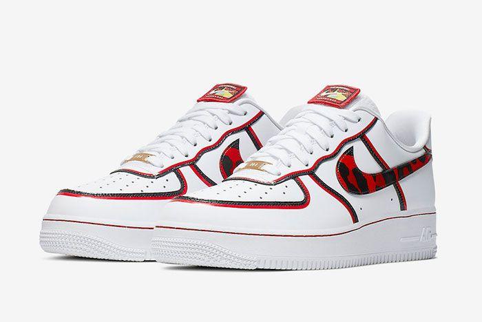 Nike Air Force 1 Low Dennis Rodman Ck6686 100 Release Date 4 Pair