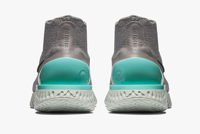Nike Rise React Flyknit Aurora Green 4