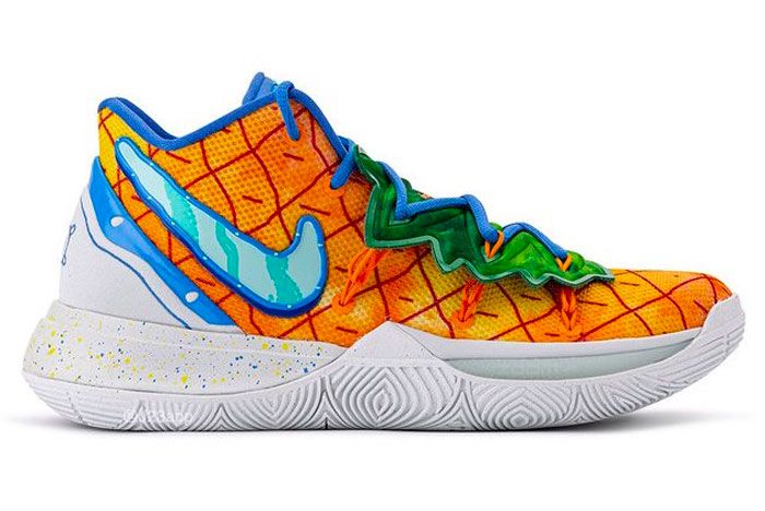 Nike Kyrie 5 Spongebob Squarepants Pineapple House Right