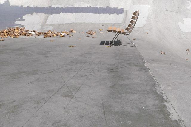 Skateboard Deck Chair 1