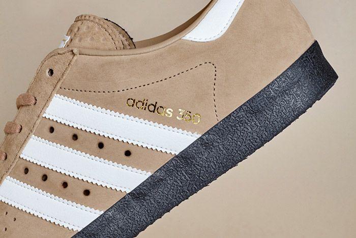 Size Exclusive Adidas 350 Suede Tan Black 3