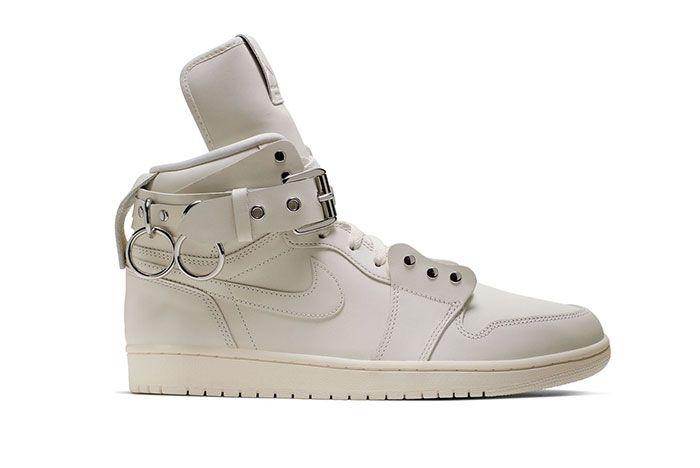 Cdg Homme Plus Air Jordan 1 Cn5738 100 White Lateral