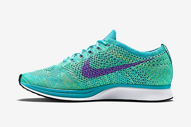 Nike Flyknit Racer Sport Turquoise Hyper Grape Volt 3