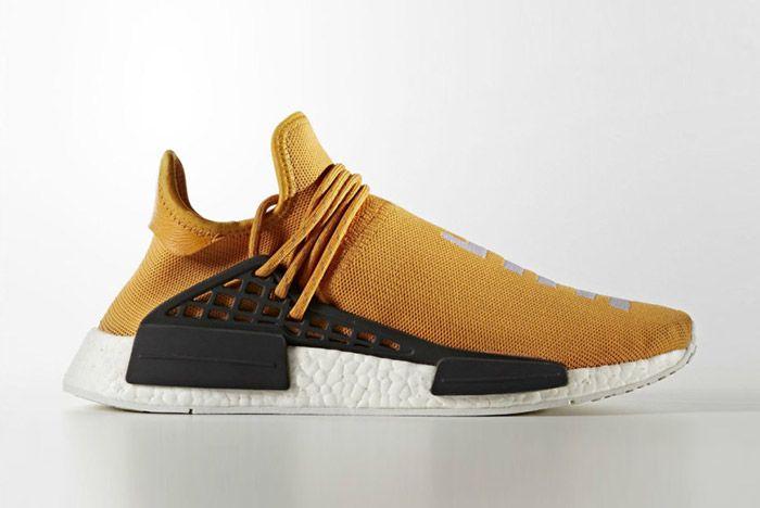 Pharrell Williams Adidas Hu Nmd Tangerine 2