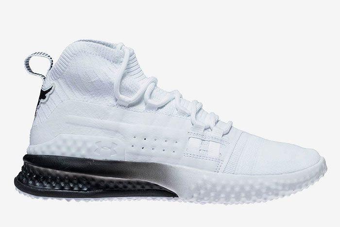 Ua Project Rock 1 White Black 21 Sneaker Freaker