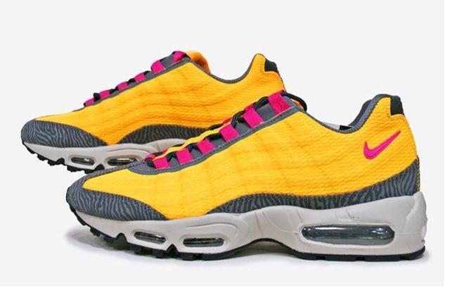 Nike Air Max 95 Prm Tape (Laser Orange/Pink Flash) - Sneaker Freaker