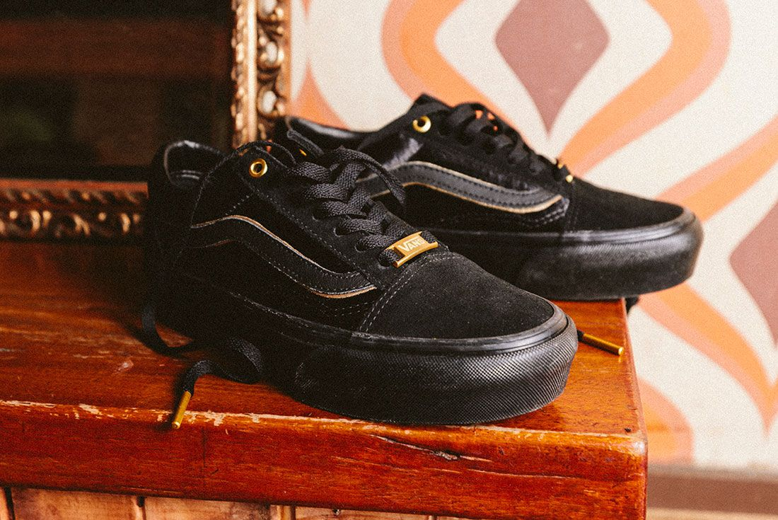 Vans Black Gold Pack 29Jd Sports Exclusive