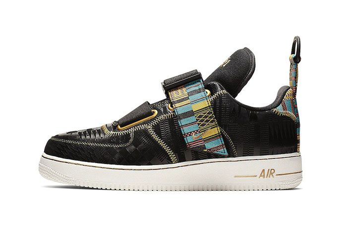 Nike Air Force 1 Utility Bhm Side Shot 1