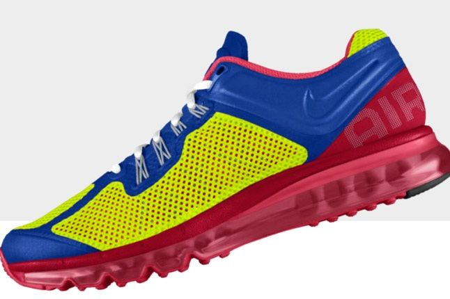 Nikeid Air Max Blue Pink Reverse Profile 1