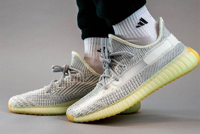 Adidas Yeezy 350 V2 Yeshaya On Foot Left