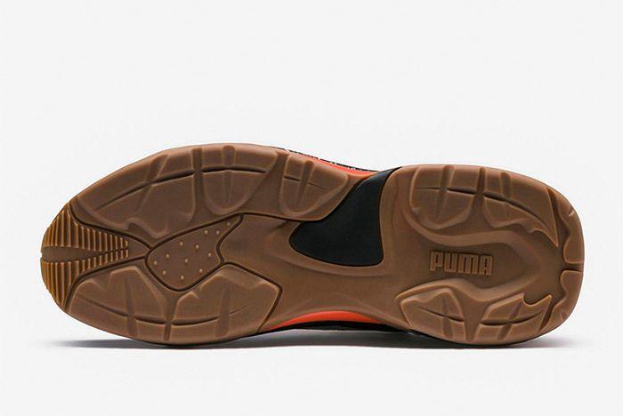 Puma Thunder Electric Black Orange 367996 01 4
