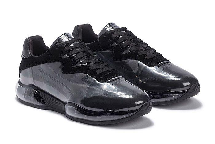Alexander Wang Stadium Sneaker Pvc Black