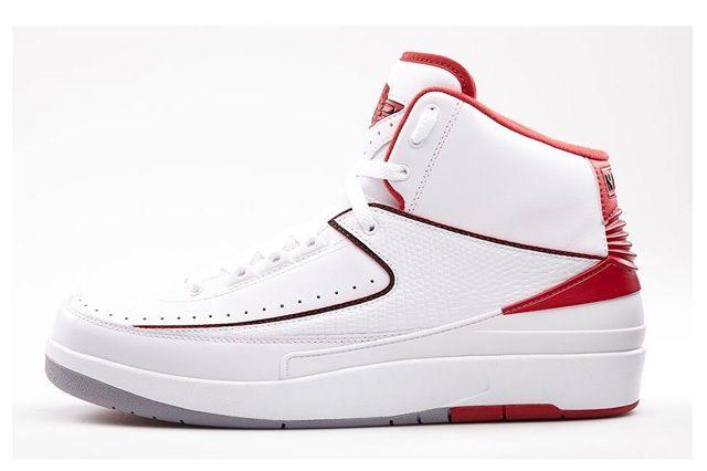 Air Jordan 2 Varisty Red Bump Bump W