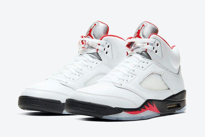 Air Jordan 5 Fire Red Toe