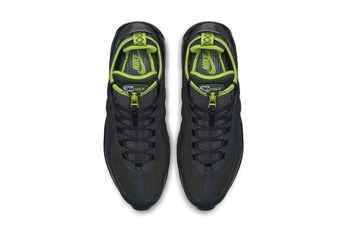 Nike Air Max 95 Sneakerboot Black Volt 2