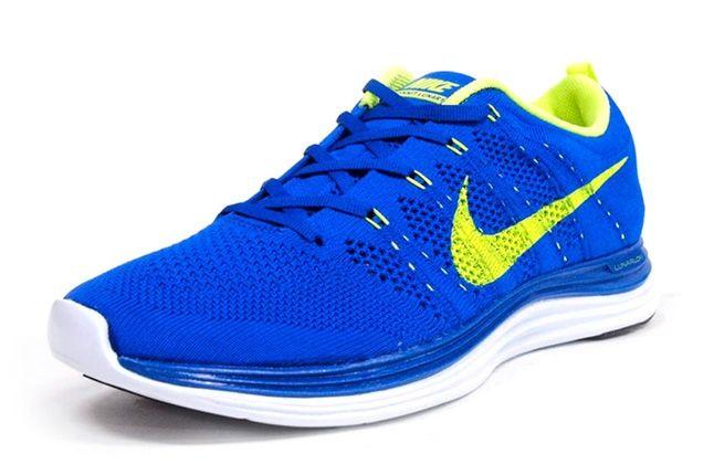 Nike Lunar Flyknit Blue Front Quarter 1